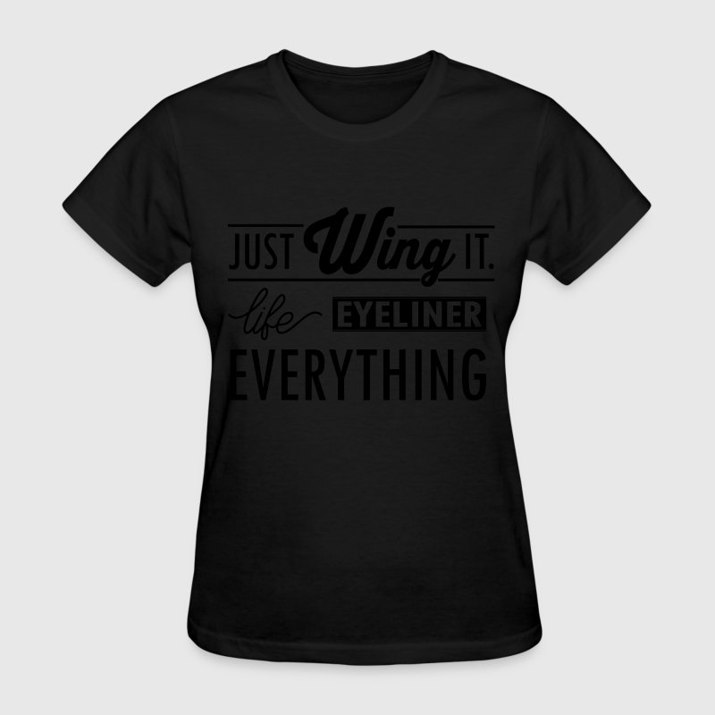 just wing it Women's T-Shirts - Women's T-Shirt