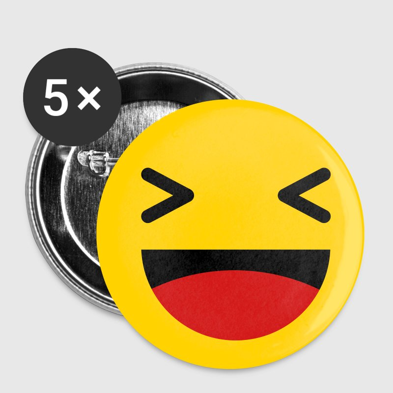 Haha funny emoticon Facebook Buttons - Small Buttons