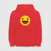 Haha funny emoticon Facebook Sweatshirts - Kids' Hoodie