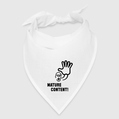 Mature Content! (Warning) Phone & Tablet Cases - Bandana
