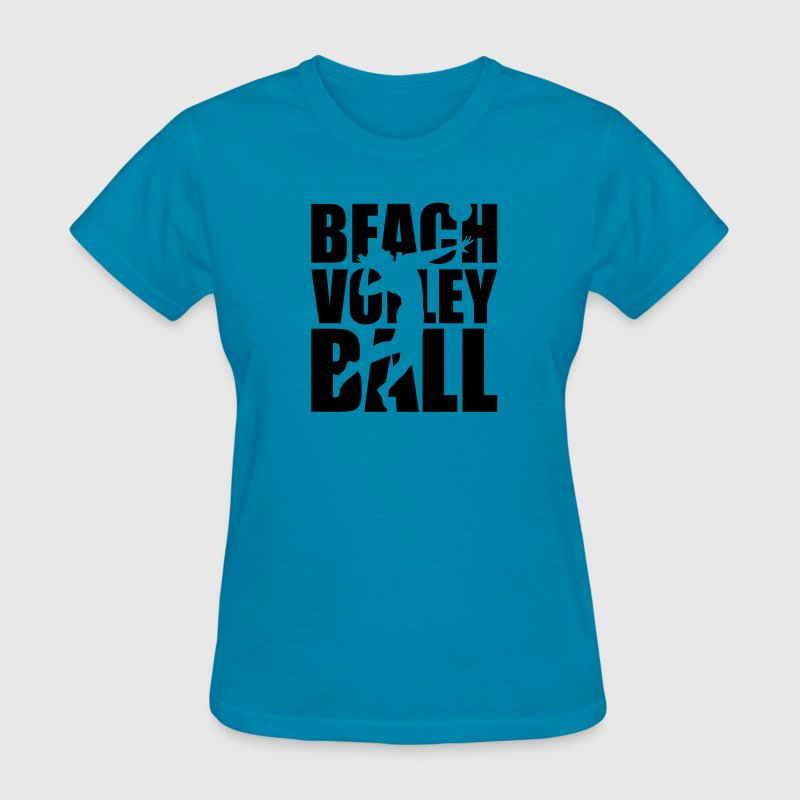 Beachvolleyball Women's T-Shirts - Women's T-Shirt