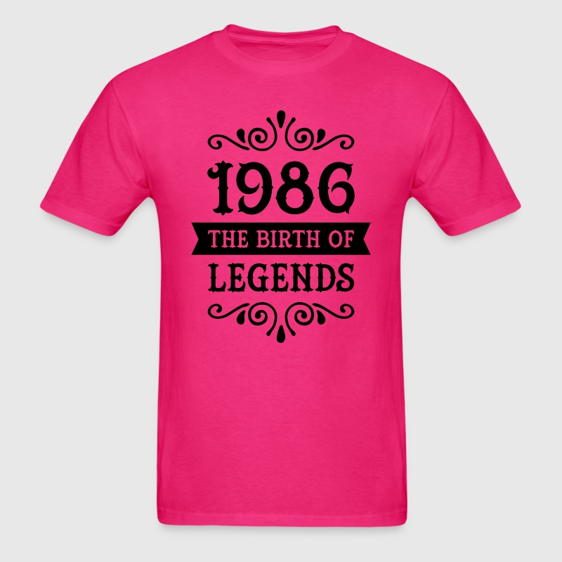 1986 - The Birth Of Legends T-Shirts - Men's T-Shirt