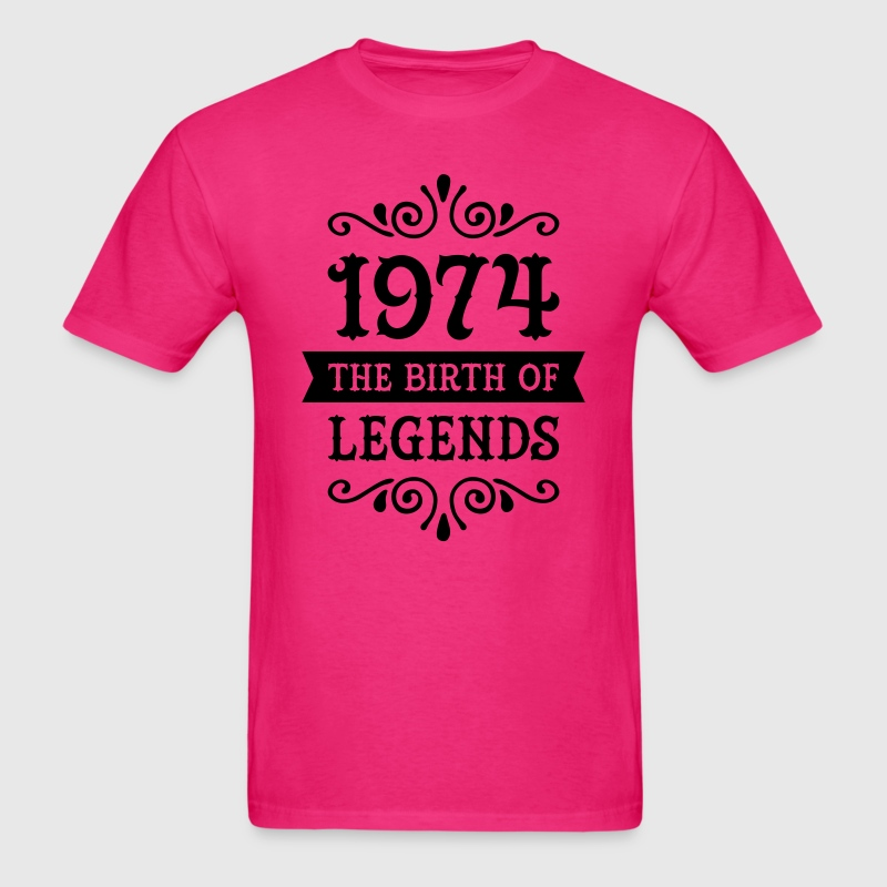 1974 - The Birth Of Legends T-Shirts - Men's T-Shirt