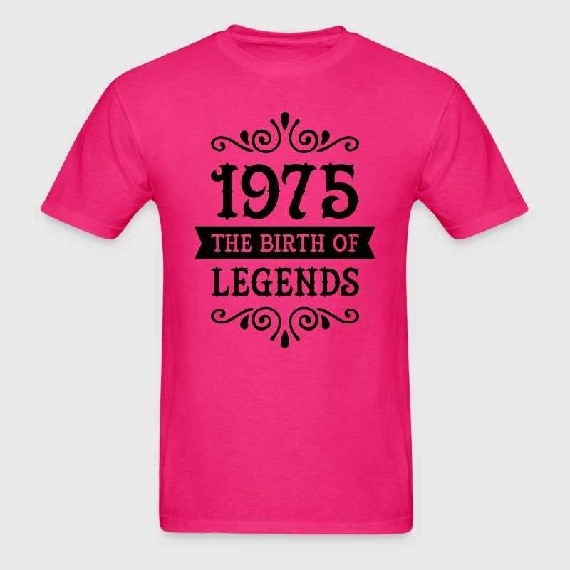 1975 - The Birth Of Legends T-Shirts - Men's T-Shirt