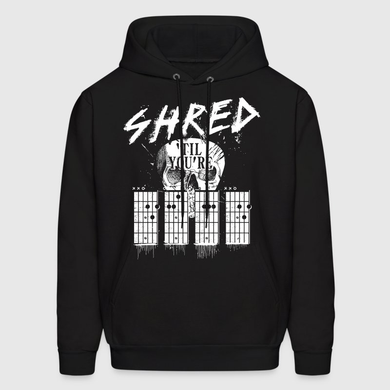 Shred 'til you're dead Hoodies - Men's Hoodie