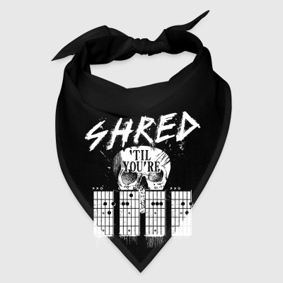 Shred 'til you're dead Mugs & Drinkware - Bandana
