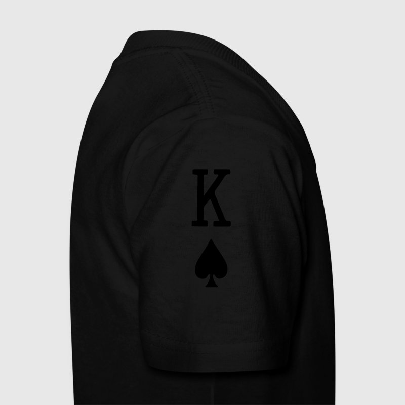 Kings of Spades Playing Card Kids' Shirts - Kids' T-Shirt