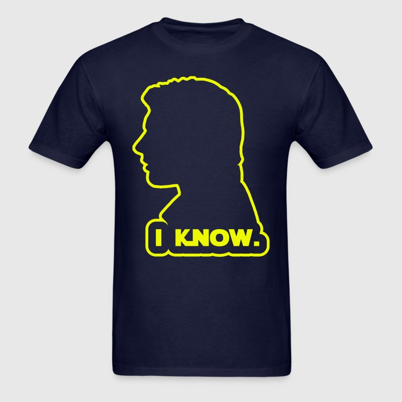 Han Solo - I Know. Design T-Shirts - Men's T-Shirt