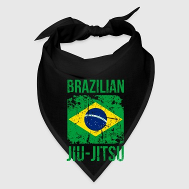 BJJ Brazilian Jiu Jitsu Flag Martial Arts T Shirt Mugs & Drinkware - Bandana