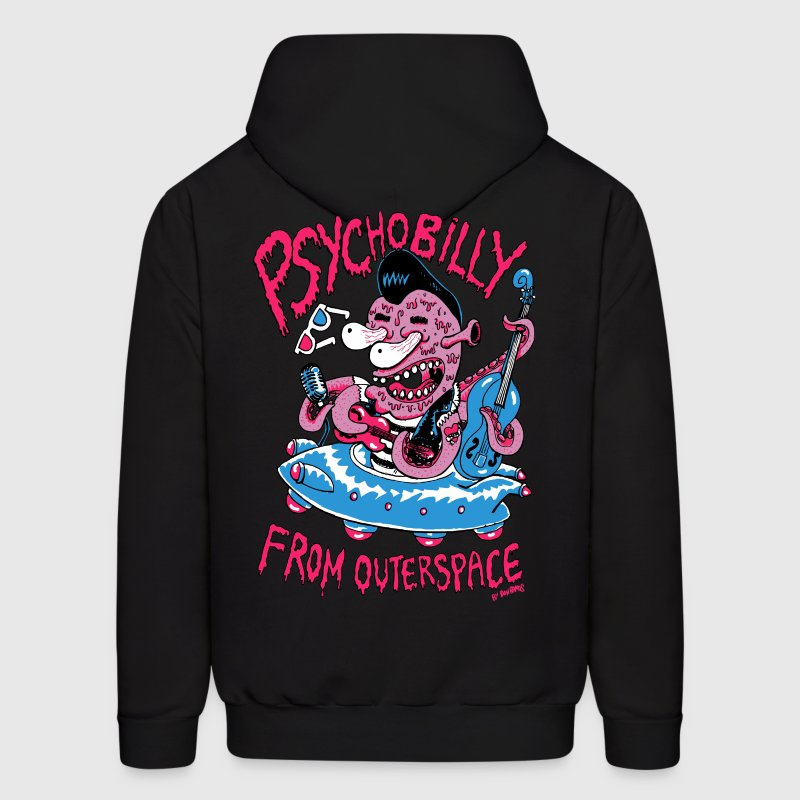 psychobilly from outerspace Hoodies - Men's Hoodie
