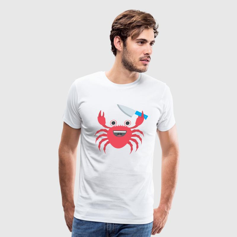 CRAB WITH A KNIFE - Men's Premium T-Shirt