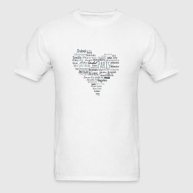 For travel lovers and not only for them... - Men's T-Shirt