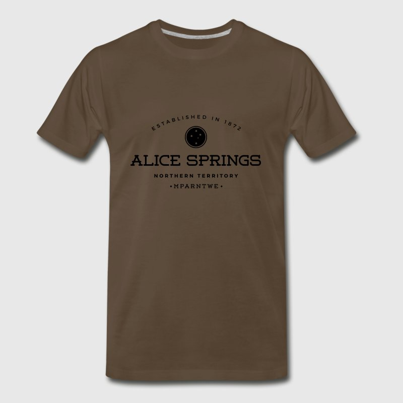 Alice Springs T-Shirts - Men's Premium T-Shirt
