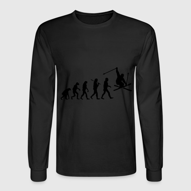 Evolution Ski Long Sleeve Shirts - Men's Long Sleeve T-Shirt