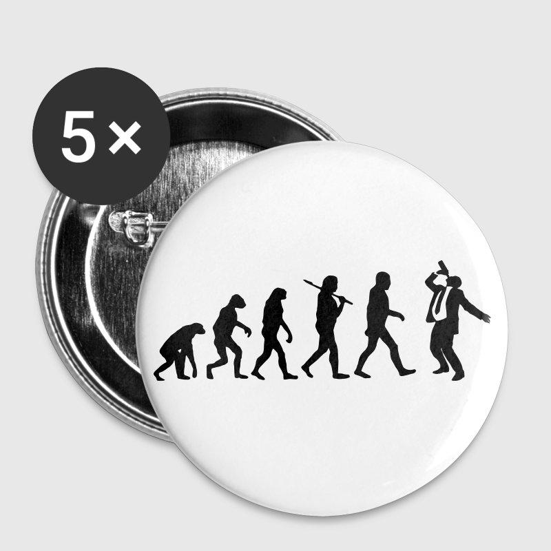 Drinking Evolution Buttons - Large Buttons