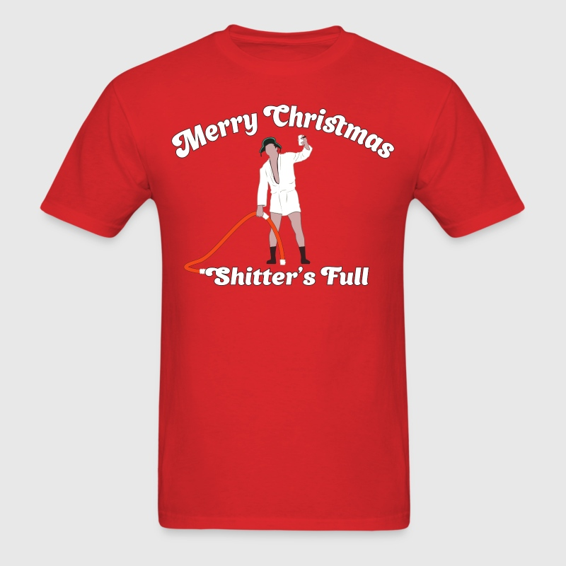 Cousin Eddie - Shitter's Full! T-Shirts - Men's T-Shirt