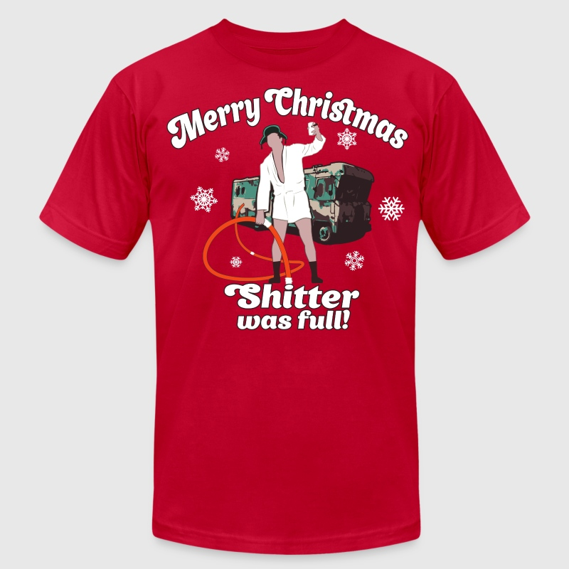 Cousin Eddie Shitter Was Full T-Shirts - Men's T-Shirt by American Apparel
