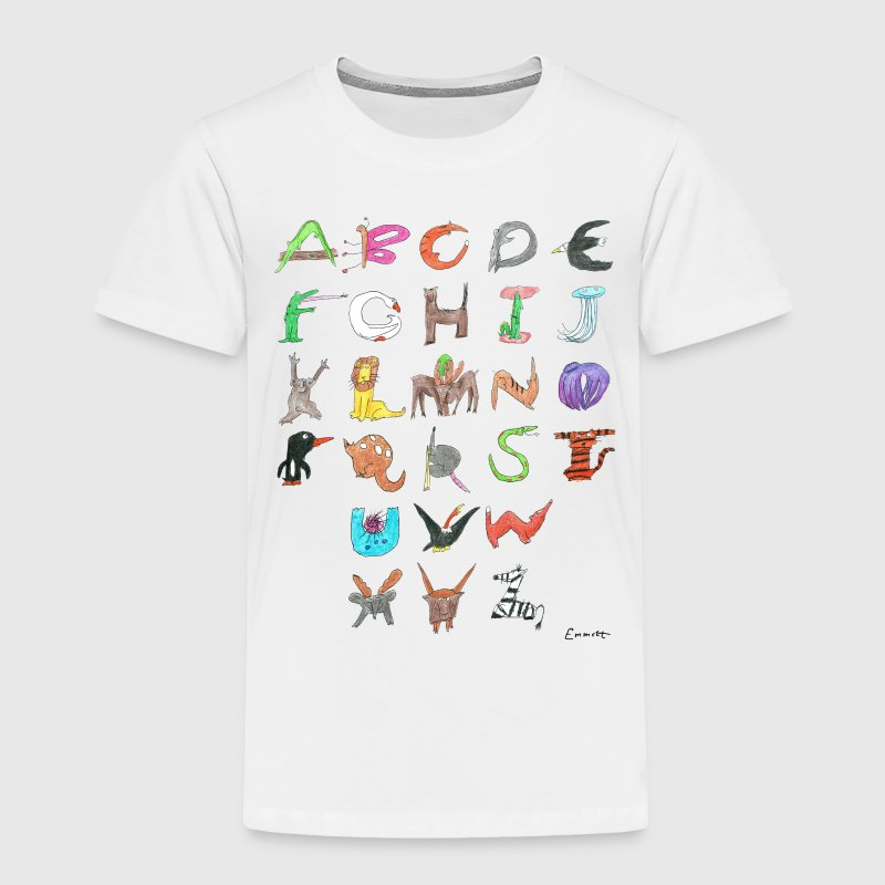 Animal ABC - Toddler T-Shirt - Toddler Premium T-Shirt