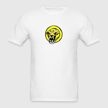 tennis ball cartoon face fierce jaws Sportswear - Men's T-Shirt