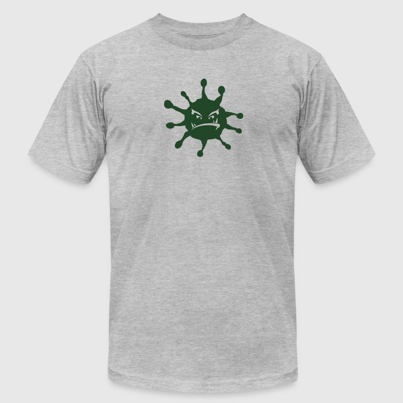 virus disease icon bad T-Shirts - Men's T-Shirt by American Apparel