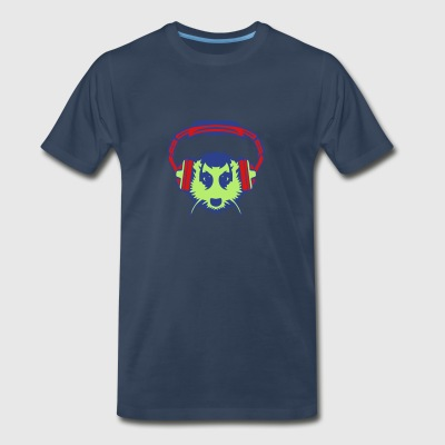 meerkat mouth audio music headphones Sportswear - Men's Premium T-Shirt