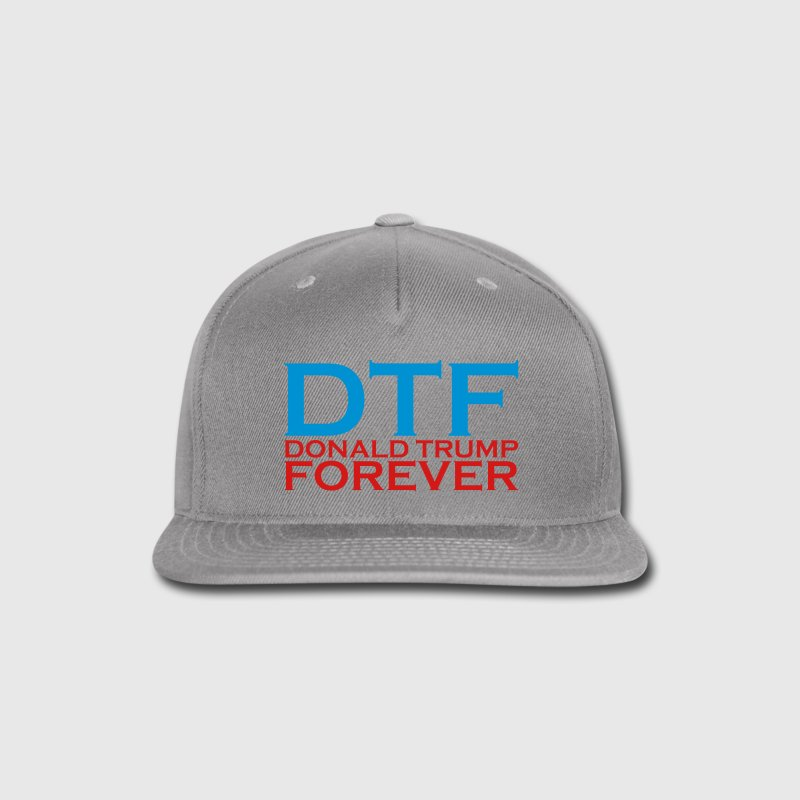 DTF - DONALD TRUMP FOREVER Sportswear - Snap-back Baseball Cap