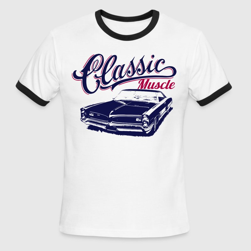 muscle car design T-Shirts - Men's Ringer T-Shirt