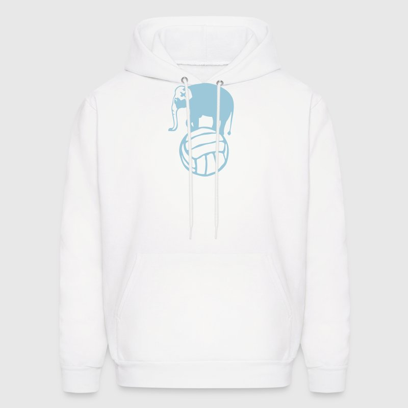 elephant balloon volleyball water polo Hoodies - Men's Hoodie