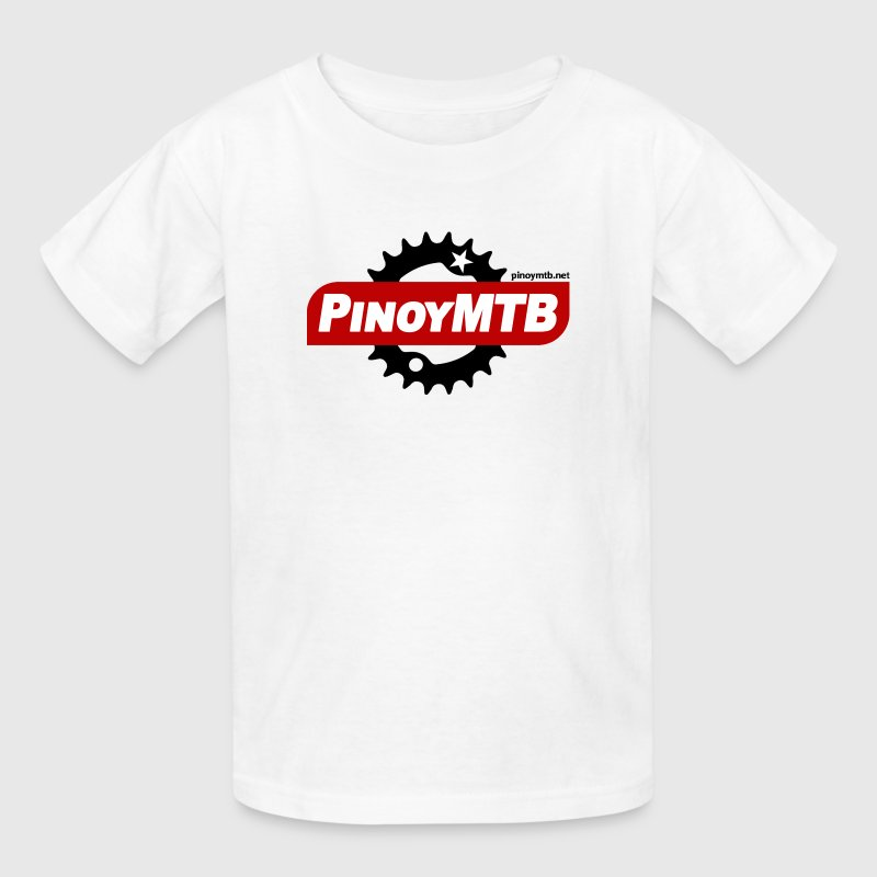 Pinoy MTB Logo Kids Filipino Mountain Bike T-Shirt - Kids' T-Shirt