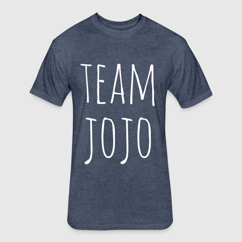 Team JoJo - Fitted Cotton/Poly T-Shirt by Next Level