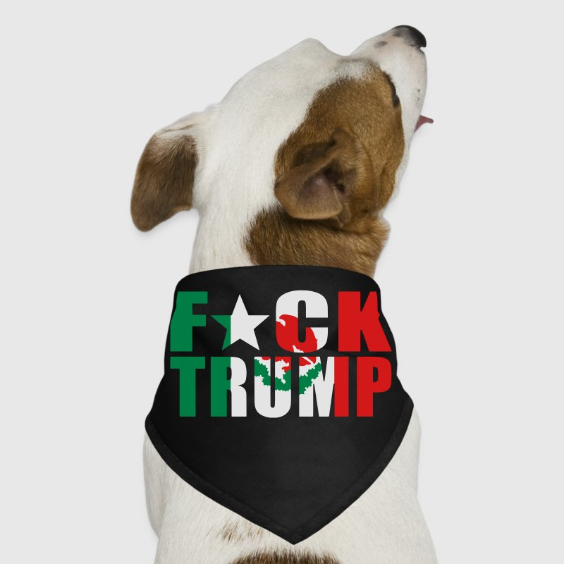F*ck Trump Mexican Flag - Dog Bandana