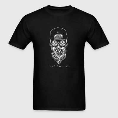 White Skull Crewneck - Men's T-Shirt