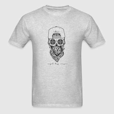 Black Skull Crewneck - Men's T-Shirt