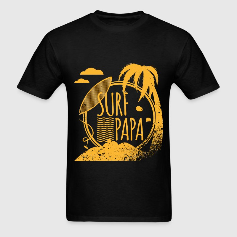 Surf Papa T-Shirts - Men's T-Shirt