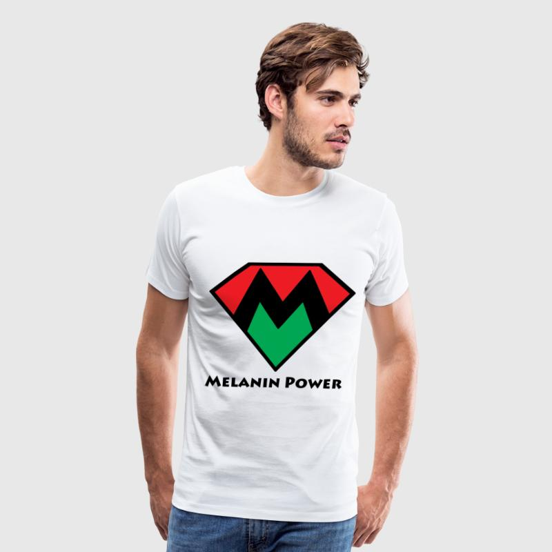 Melanin Power Tee  - Men's Premium T-Shirt