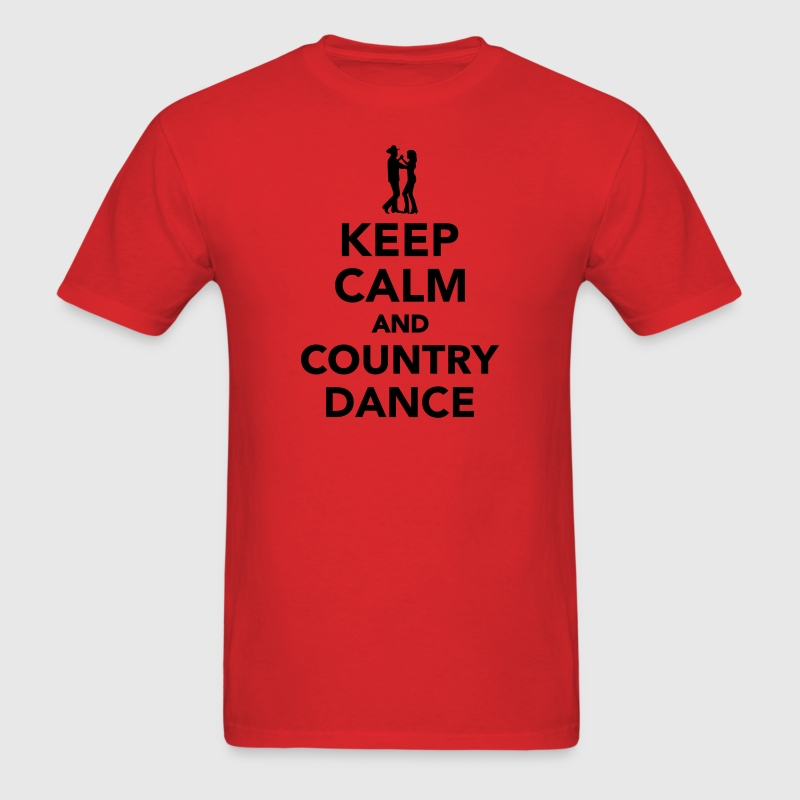 Keep calm and country dance T-Shirts - Men's T-Shirt