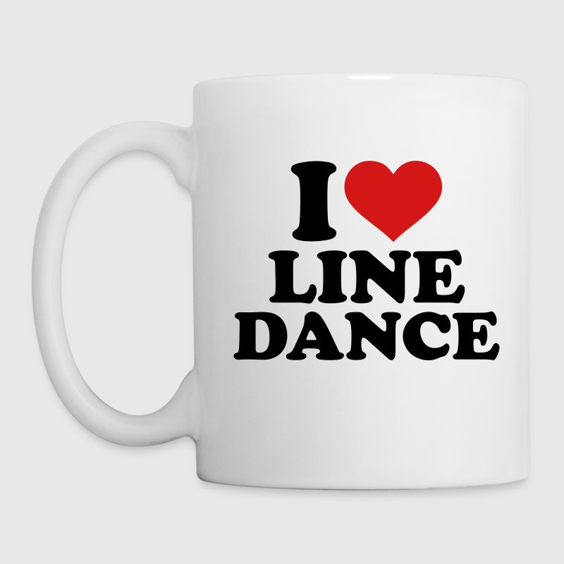 I love Line dance Mugs & Drinkware - Coffee/Tea Mug