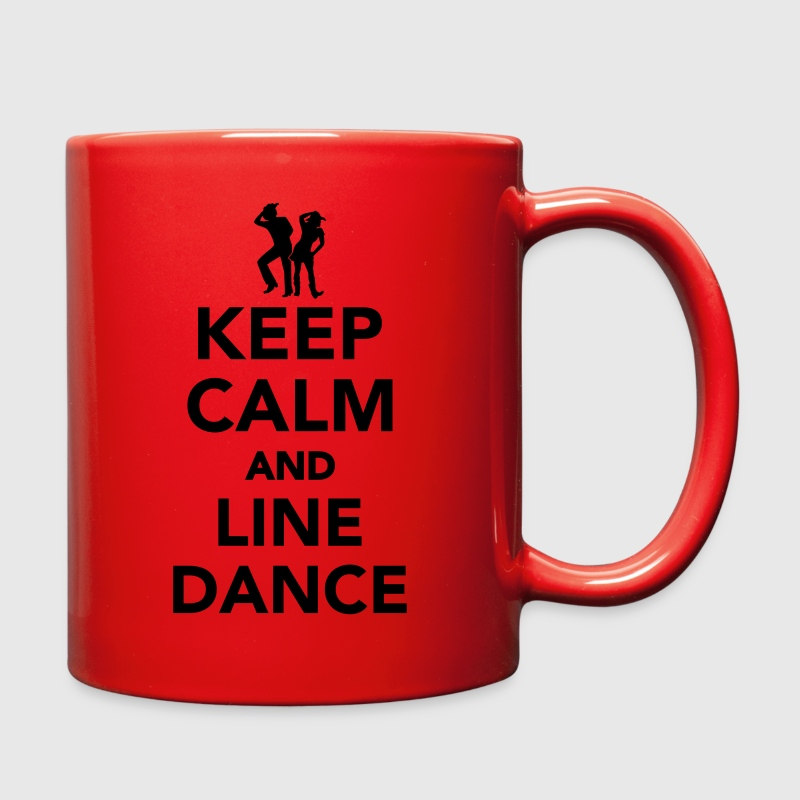 Keep calm and line dance Mugs & Drinkware - Full Color Mug