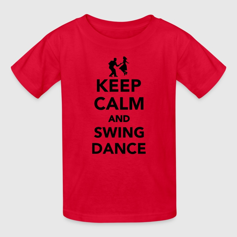 Keep calm and Swing dance Kids' Shirts - Kids' T-Shirt