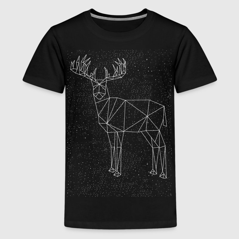 Deer Constellation Kids' Shirts - Kids' Premium T-Shirt