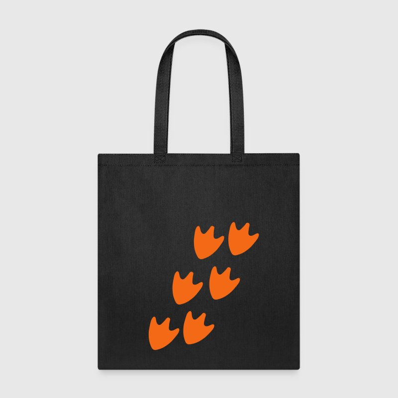 Track of Duck Feet Bags & backpacks - Tote Bag