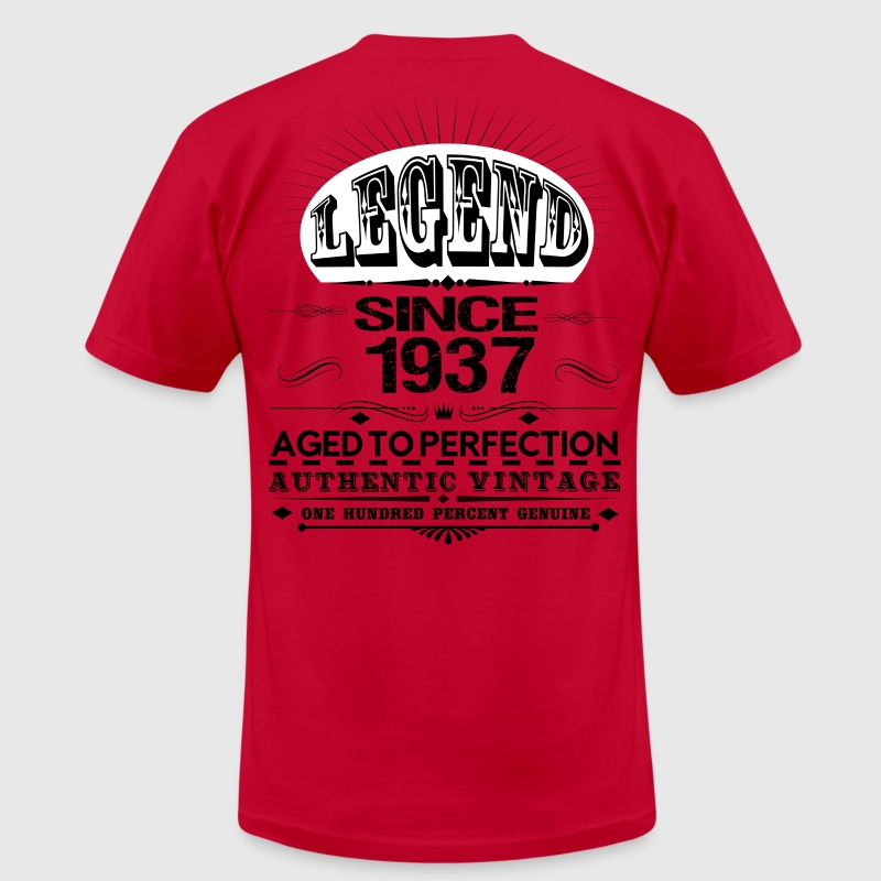 LEGEND SINCE 1937 T-Shirts - Men's T-Shirt by American Apparel
