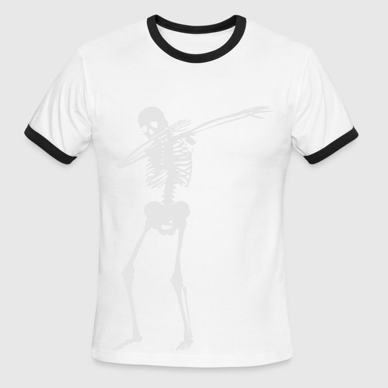 Dab Skeleton T-Shirts - Men's Ringer T-Shirt