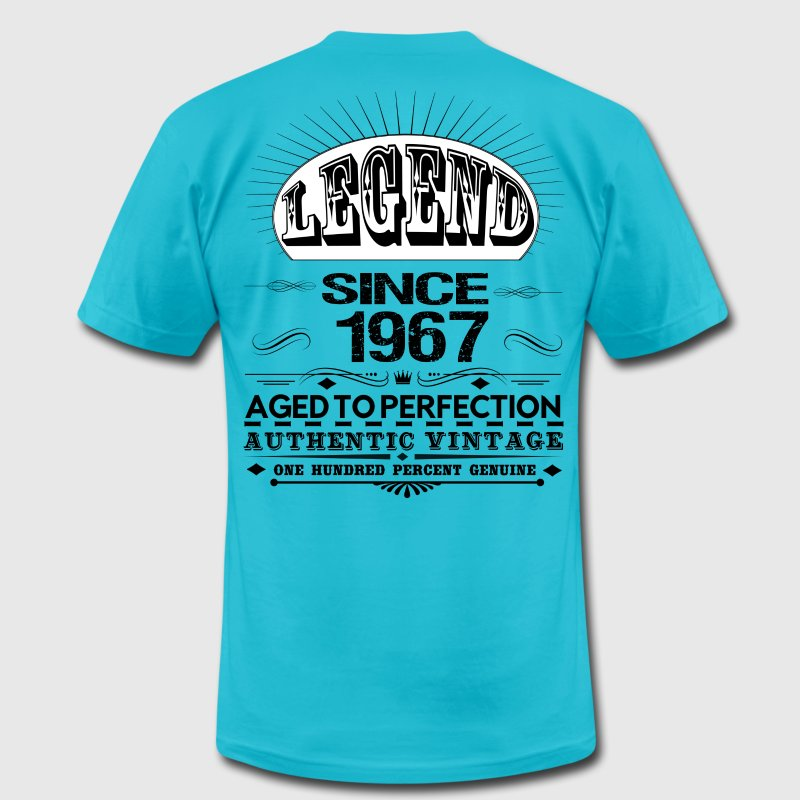 LEGEND SINCE 1967 T-Shirts - Men's T-Shirt by American Apparel