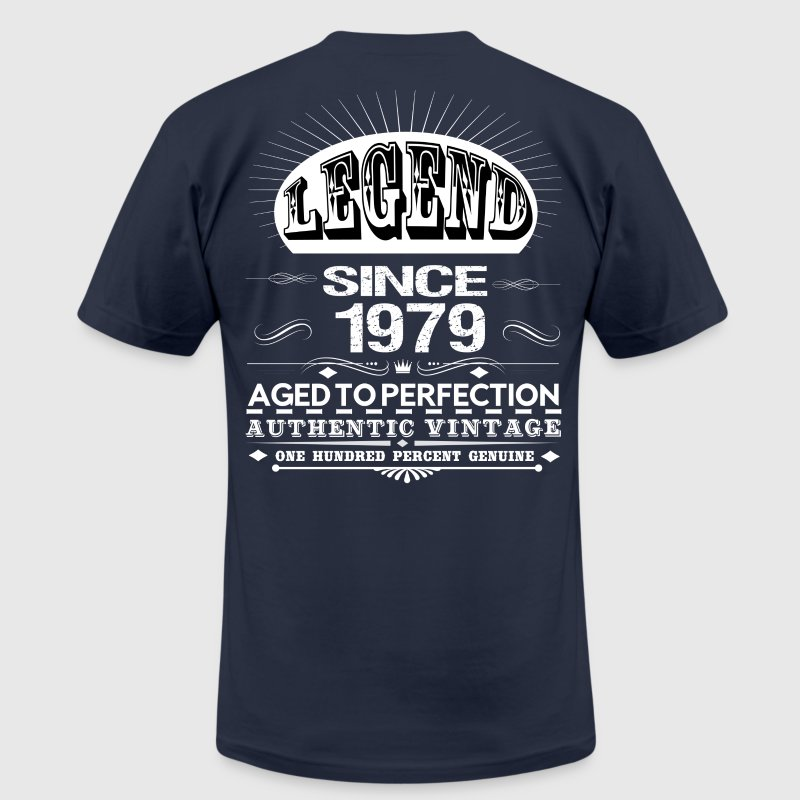LEGEND SINCE 1979 T-Shirts - Men's T-Shirt by American Apparel