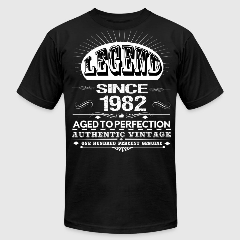 LEGEND SINCE 1982 T-Shirts - Men's T-Shirt by American Apparel
