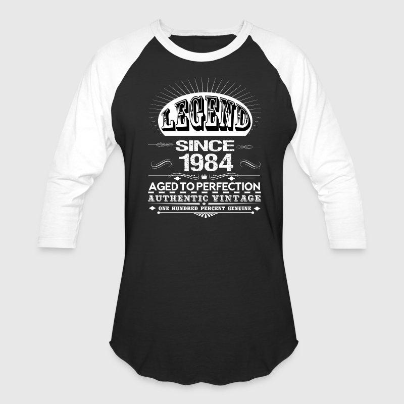 LEGEND SINCE 1984 T-Shirts - Baseball T-Shirt