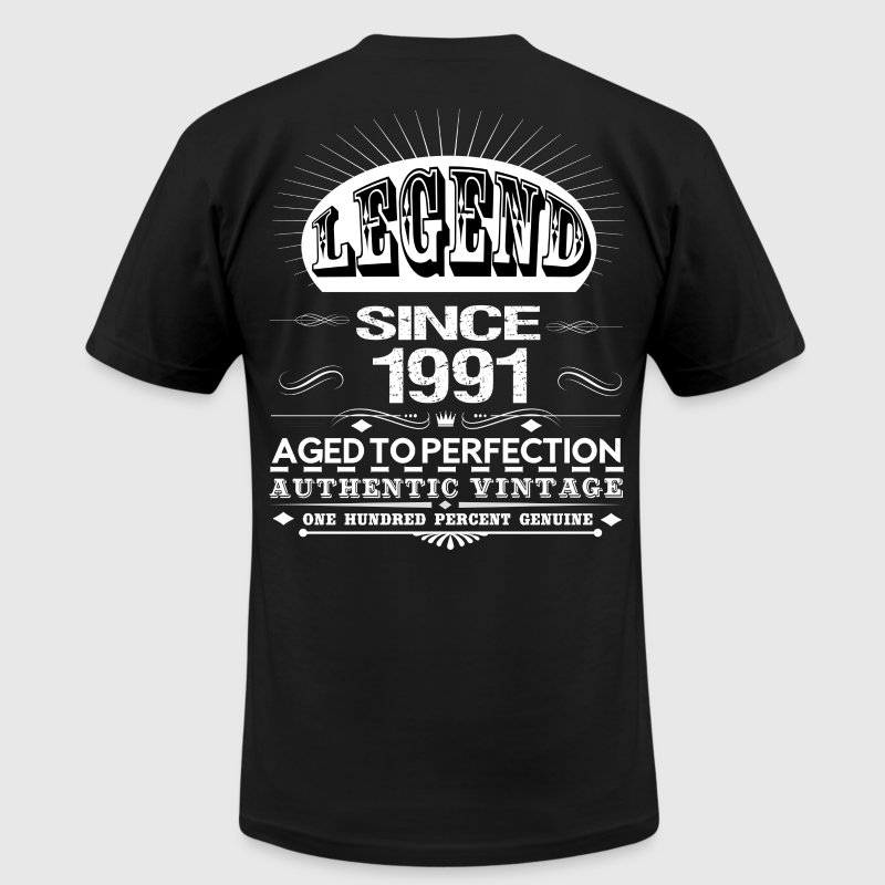 LEGEND SINCE 1991 T-Shirts - Men's T-Shirt by American Apparel