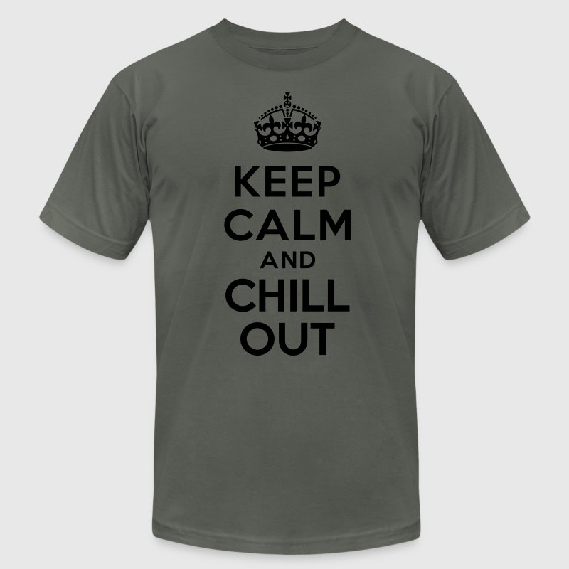 Keep calm and Chill out T-Shirts - Men's Fine Jersey T-Shirt