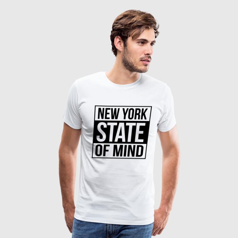 new york state of mind T-Shirts - Men's Premium T-Shirt